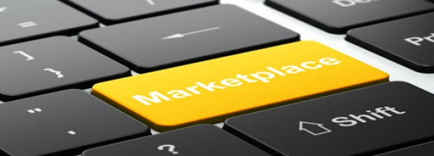 Online marketplace template
