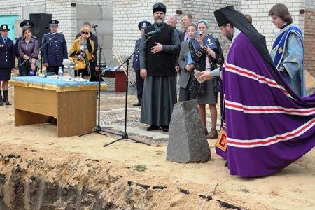 В Херсоне начали строительство храма в честь 40 мучеников Севастийских