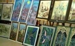 В Херсоне студенты-художники показали свои выпускные работы