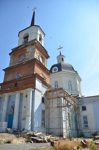 В Херсоне продолжается реставрация Свято-Успенского собора