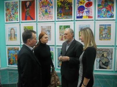 В Херсоне открылась выставка художников из Николаева, Херсона и Одессы