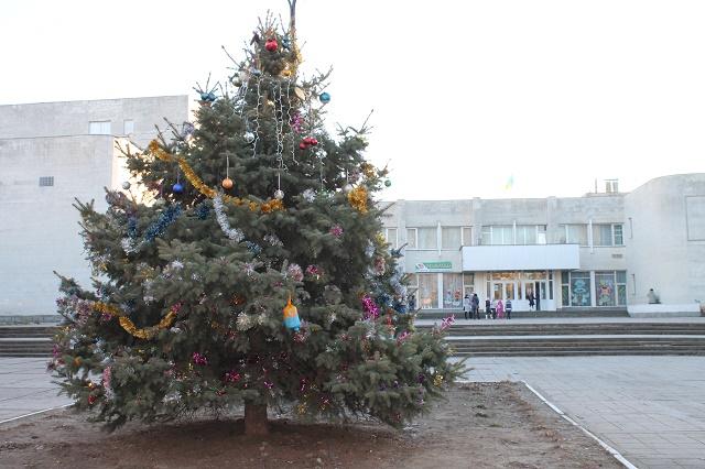 Главную новогоднюю елку Скадовска откроют 25 декабря