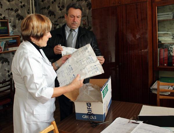 Иммигранты в США из Новой Каховки помогли больнице родного города