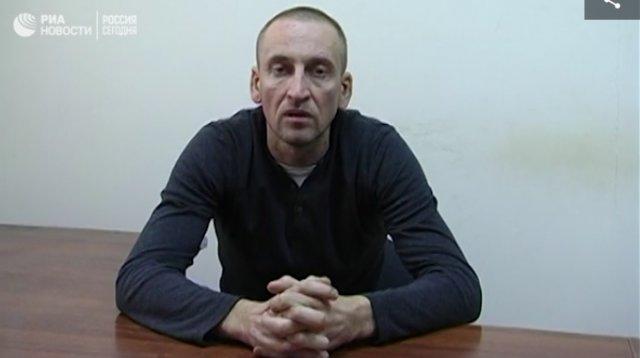 Российская ФСБ обнародовала видео с показаниями'украинского шпиона' из Херсона