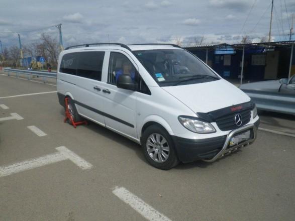 Прикордонники Херсонщини виявили автомобіль, який перебував в розшуку  Іспанії