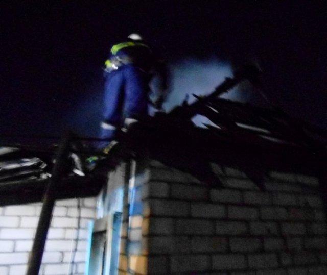 У Новій Каховці з пожежі врятували господаря