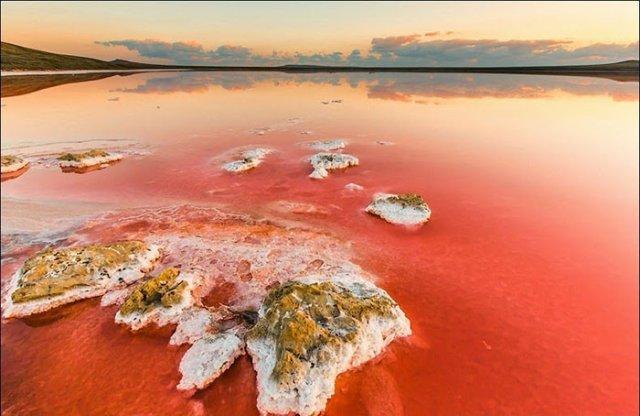 «Гниле море»: фантастичне озеро Сиваш і його пейзажі (фото)