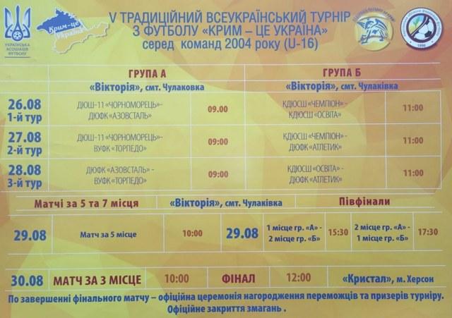 В Чулаковке начался большой футбольный турнир, который закончится в Херсоне