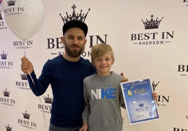 Шестикратный чемпион из Херсона получил премию «Ребенок года-2019»