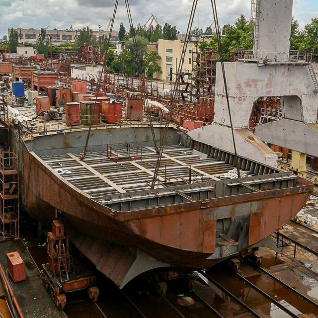 Херсонские корабелы получили достойную оценку своей работы от голландцев