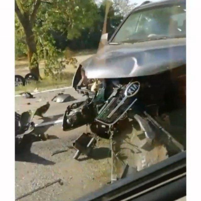 По дороге в Железный Порт произошло серьезное ДТП