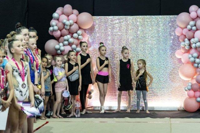 На Херсонщине состоялся чемпионат по художественной гимнастике