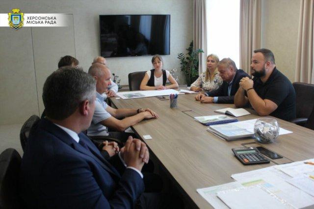 Мэр Херсона встретился с представителями Министерства инфраструктуры